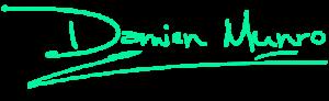 Damien Munro Signature - Mint